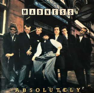 Madness - Absolutely (LP) (G-VG/G+)